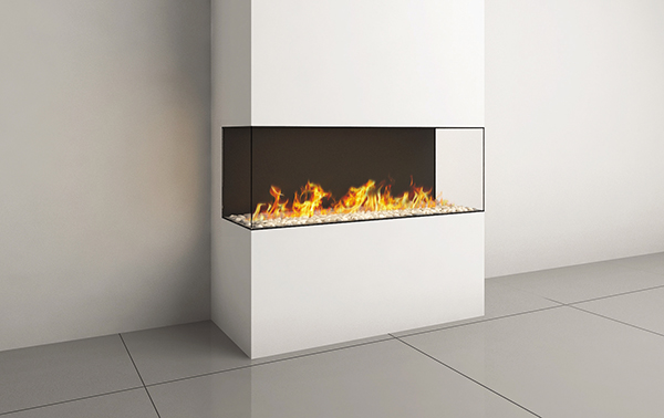 CLEAR ROOM DIVIDER 110 FIREPLACE
