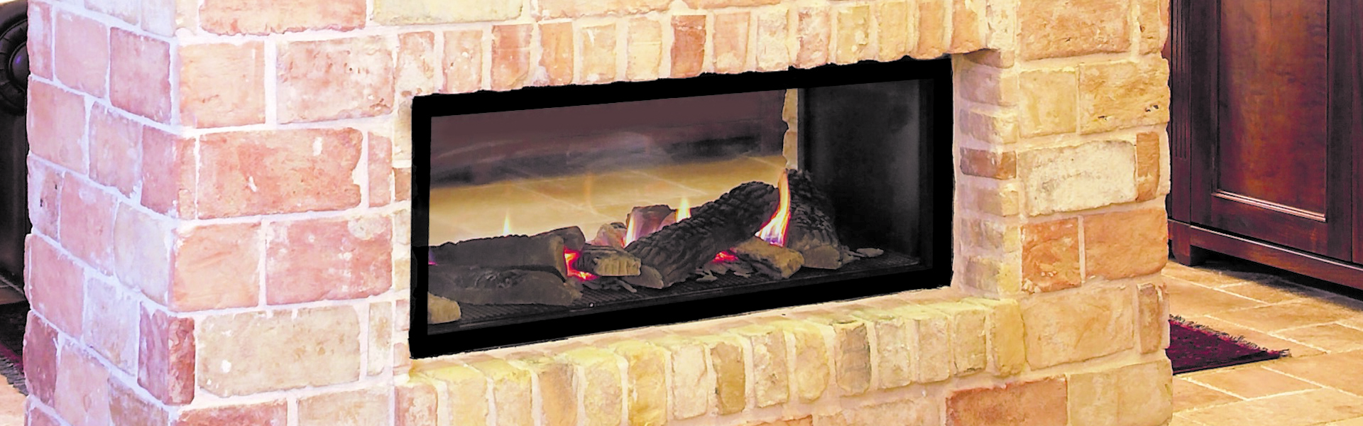 Modern See-Through Fireplaces