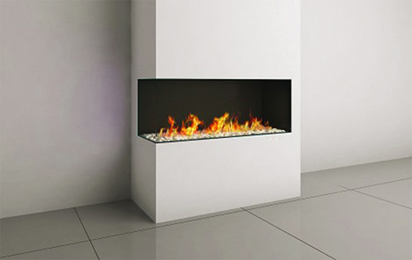 CORNER RS/LS 110 FIREPLACE