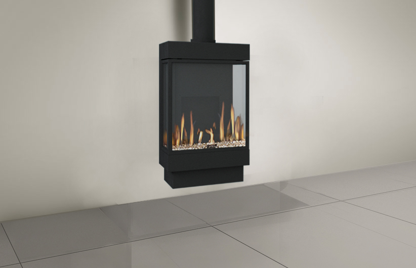 Modern Free Standing Fireplaces Stand Alone Fireplaces Lyric