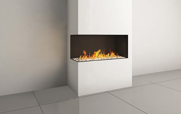 CORNER RS/LS 90 FIREPLACE