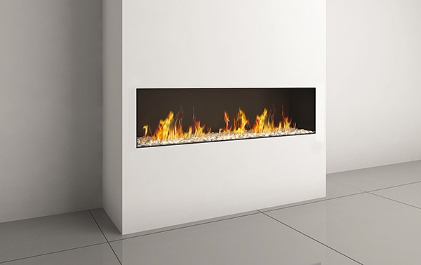 LYRIC CLEAR FRONT 140 FIREPLACE