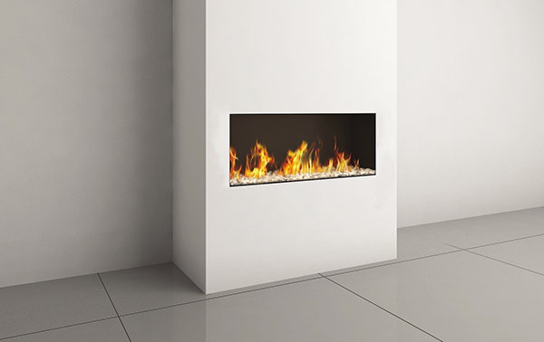 LYRIC CLEAR FRONT 90 FACING FIREPLACES