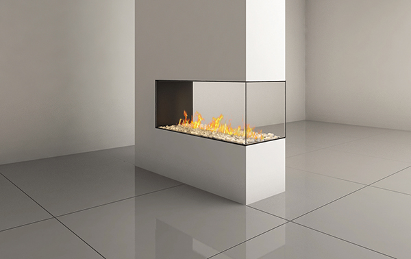 CLEAR PENINSULA 120 FIREPLACE